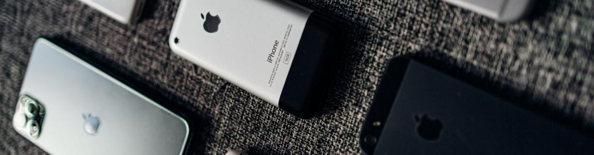 Toutes les générations d'iPhones depuis leur sortie en 2007