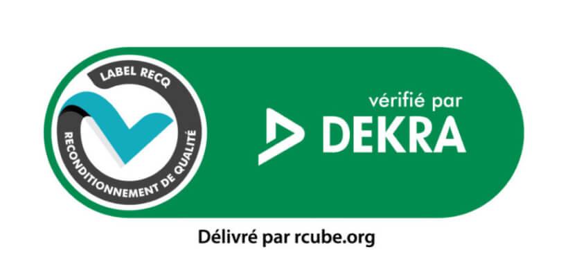 Logo Dekra et RecQ