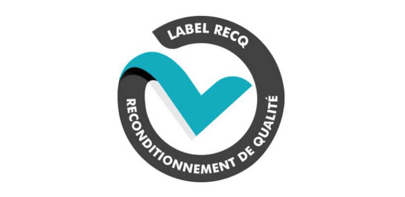Logo du label RecQ Reconditionnement de Qualité